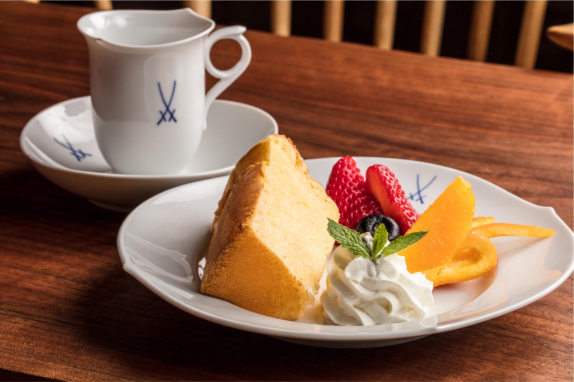 ケーキセット(珈琲or紅茶)